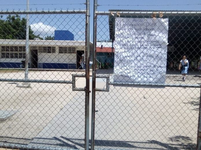 El lunes reanudarán clases en las escuelas con paro (Sinaloa)