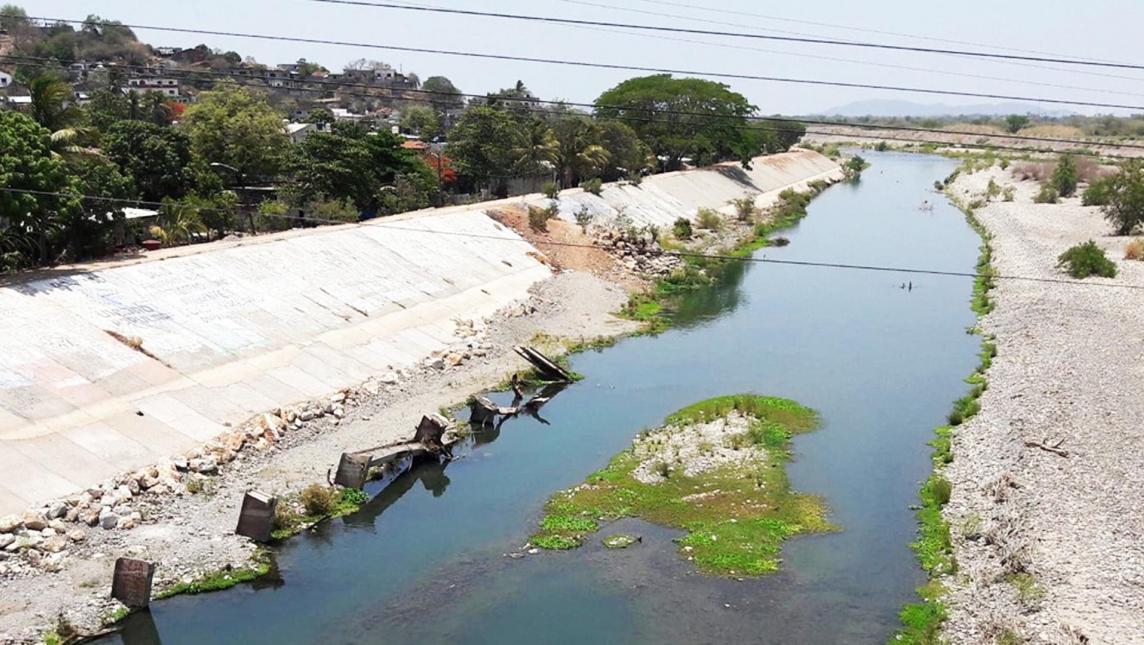 Agoniza el río Tehuantepec, en el Istmo de Oaxaca