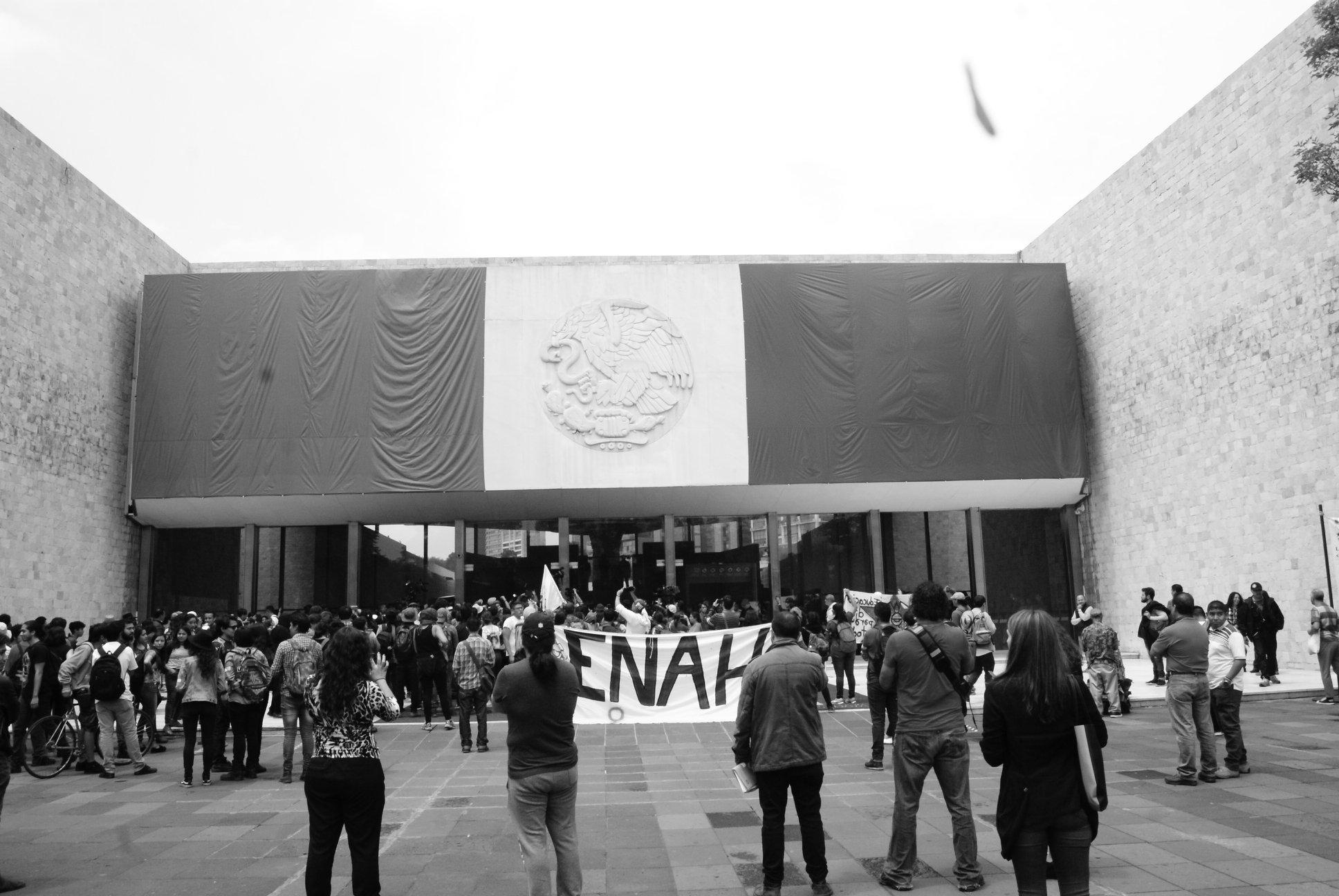 Tejer comunidad: estudiantes de la ENAH en paro y su proceso organizativo (CDMX)