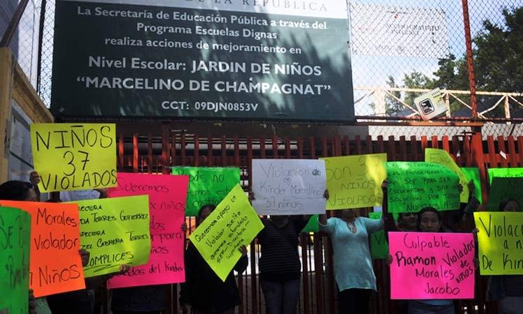 Policías de la SSP-CDMX agreden a padres y madres que denunciaban el abuso sexual de 37 menores