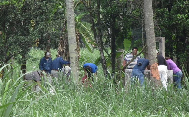 Buscan en pozos a desaparecidos (Veracruz)
