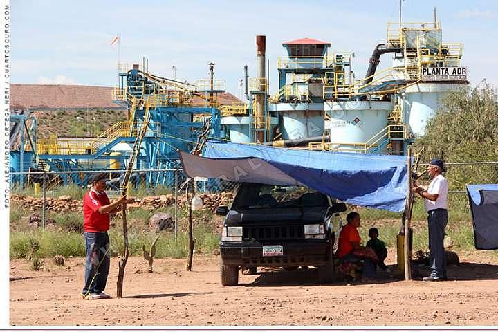Asociaciones civiles procederán legalmente contra expansión de minera en Zacatecas