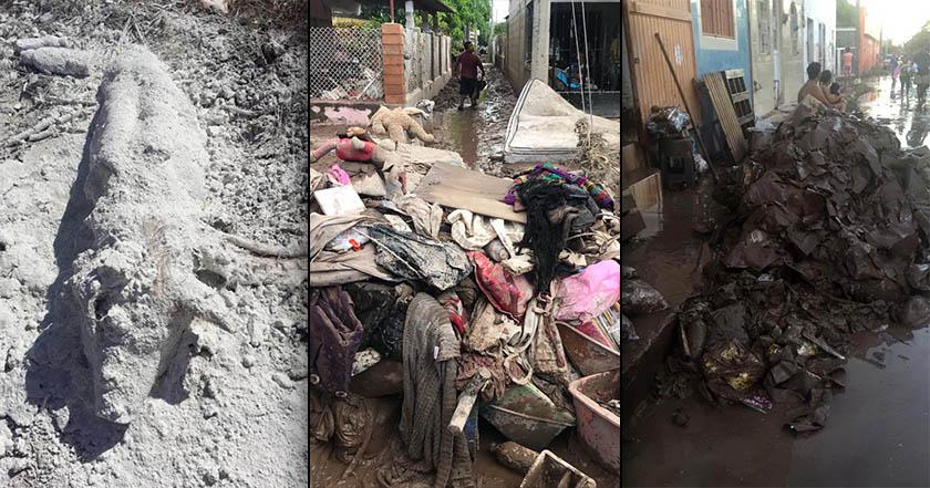 Podría desatarse epidemia en Nayarit; 180 mil viven entre lodo y cadáveres desde hace 12 días