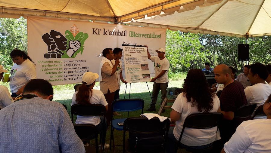 Mayas de la Península de Yucatán refrendan su compromiso de defender su territorio