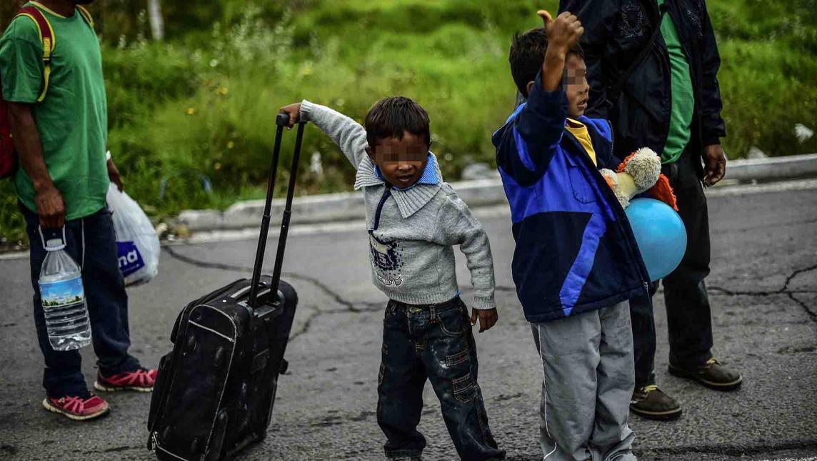 Deporta EU 3 niños oaxaqueños al día
