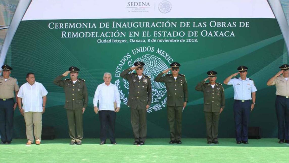 Inauguran bastión de Sedena en Ixtepec, Oaxaca