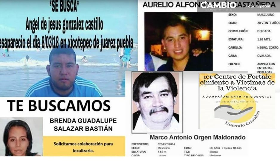 Continúan la incansable búsqueda de familiares desaparecidos en la Sierra Norte (Puebla)
