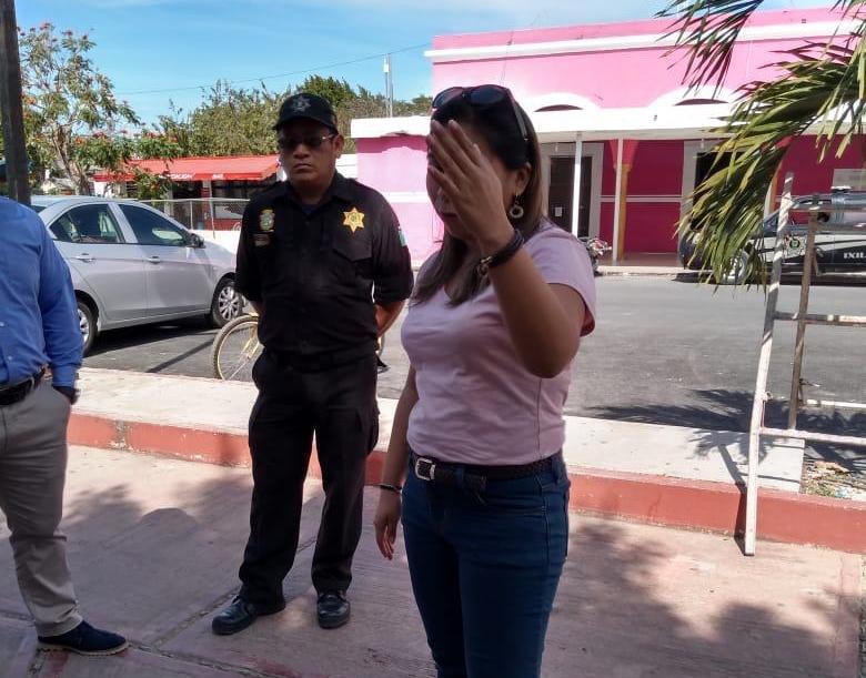 """Presunta funcionaria del Gobierno de Yucatán conmina a ejidatarios de Ixil a """"calmarse"""""""