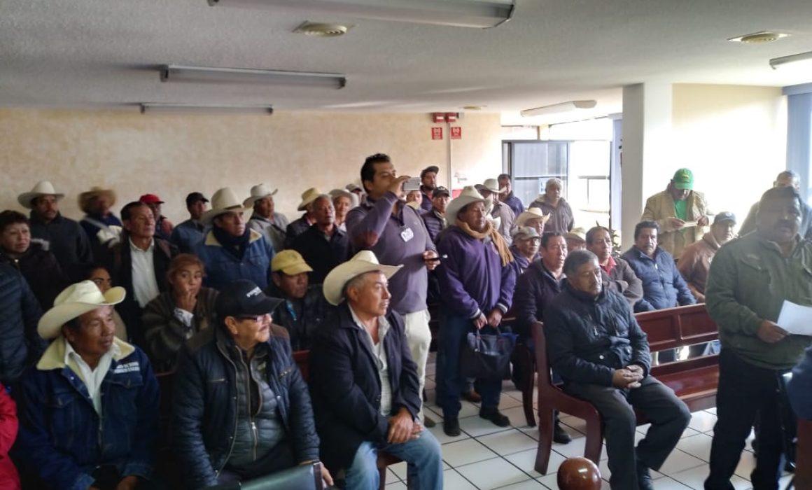 Reclaman ejidatarios poblanos en Tlaxcala fallo del Tribunal Agrario