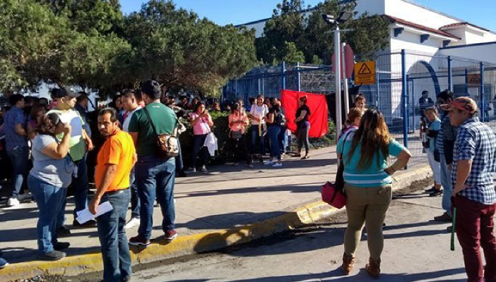 Se van a huelga más de 30 mil trabajadores de 45 maquiladoras en Matamoros (Tamaulipas)