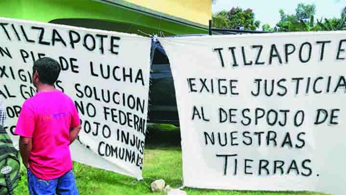 Desmienten desalojo en Tilzapote (Oaxaca)