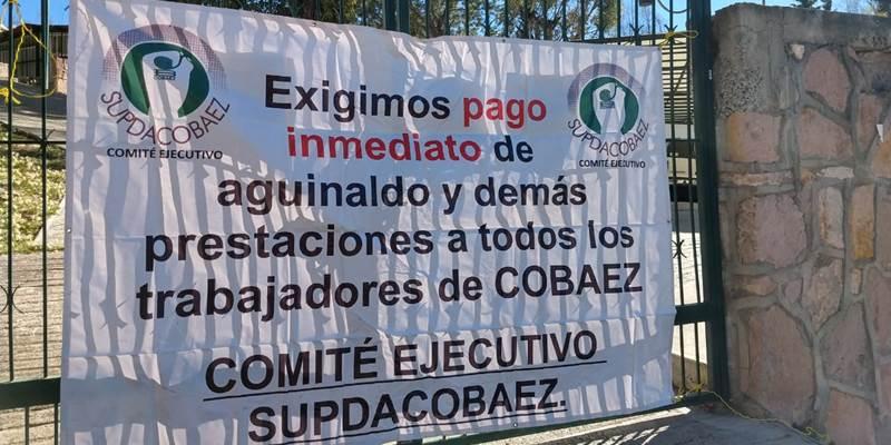 Navidad sin aguinaldo completo para maestros del Cobaez (Zacatecas)
