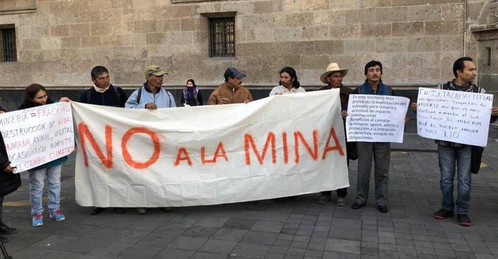Pobladores nahuas denuncian concesiones mineras que violan la ley (Puebla)