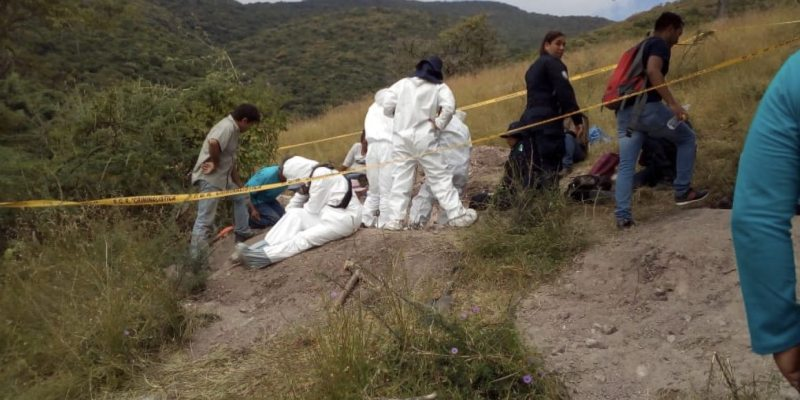 En seis semanas de búsqueda en fosas de Iguala, este año se hallaron 13 cuerpos de desaparecidos (Guerrero)