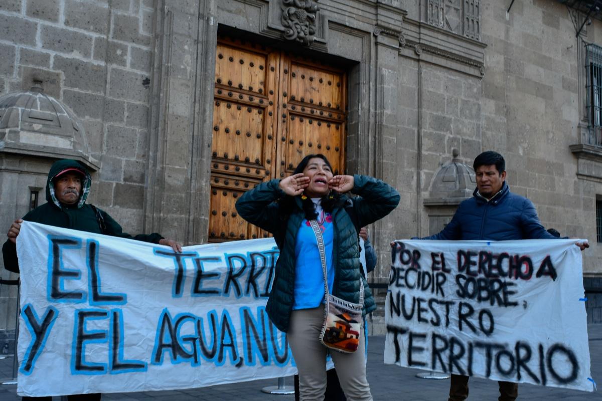 Subsecretario incurre en interferencia de poderes al apoyar a minera en Puebla