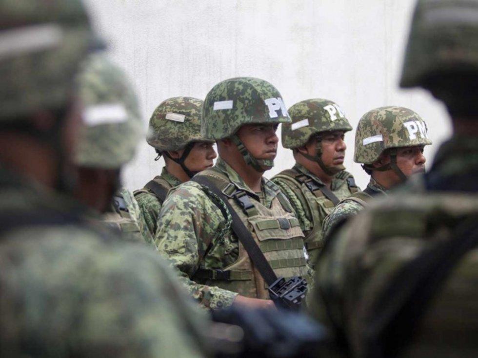 Ante ola de violencia, regresan patrullajes de militares a San Pedro, Nuevo León