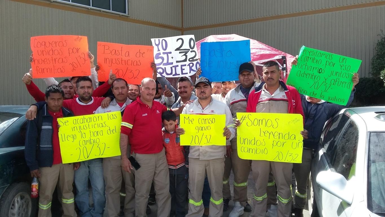 Prolongan paro en la Coca Cola siguen sin firmar acuerdo (Tamaulipas)