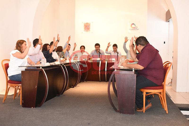Descuenta Ayuntamiento 7 días a participantes de la huelga laboral (Campeche)