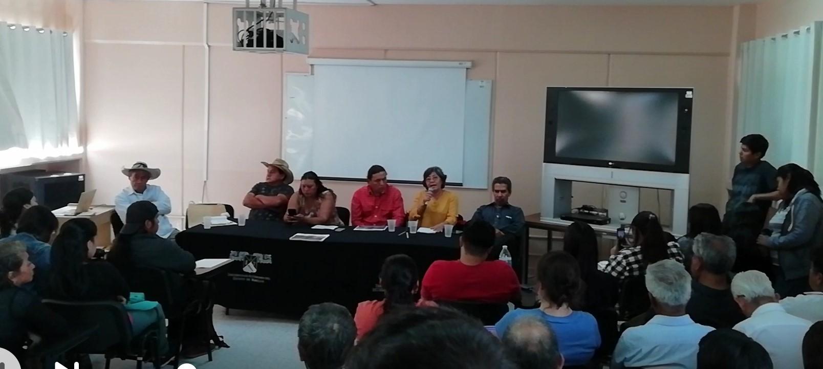 Se organiza Foro Informativo en contra del PIM en el IIHCS de la UAEM, en Morelos