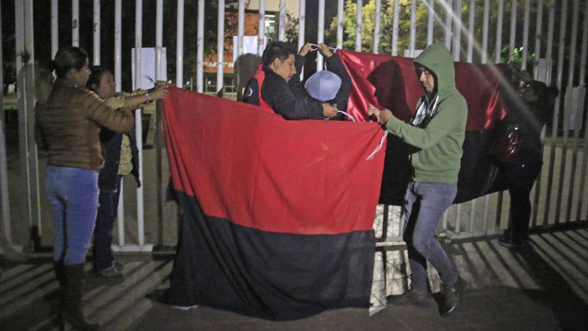 Estalla la huelga en la UABJO (Oaxaca)