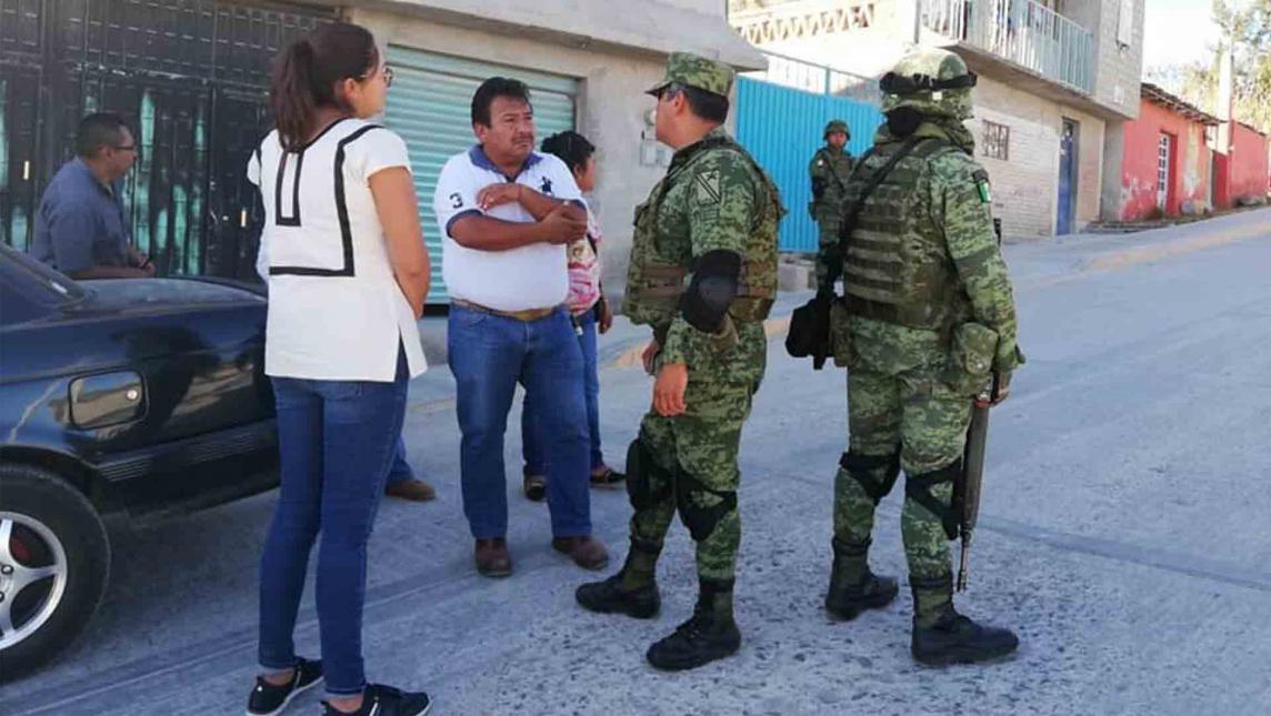 Recorre Ejército calles de Nochixtlán, Oaxaca