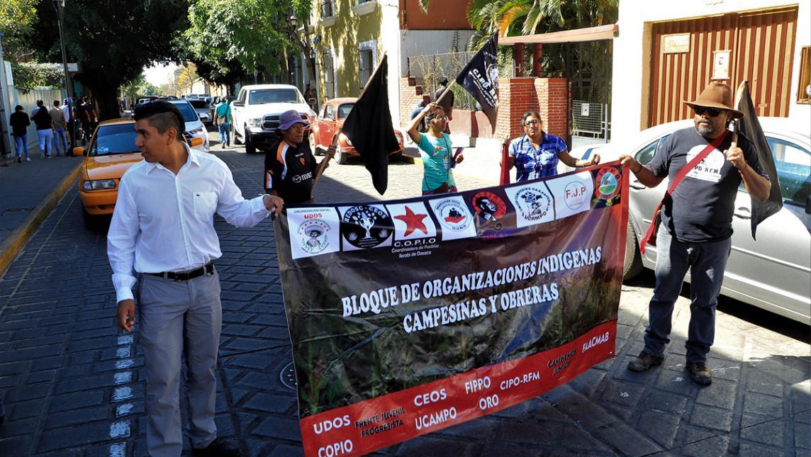 Demanda S-22 justicia por asesinato de activista (Oaxaca)