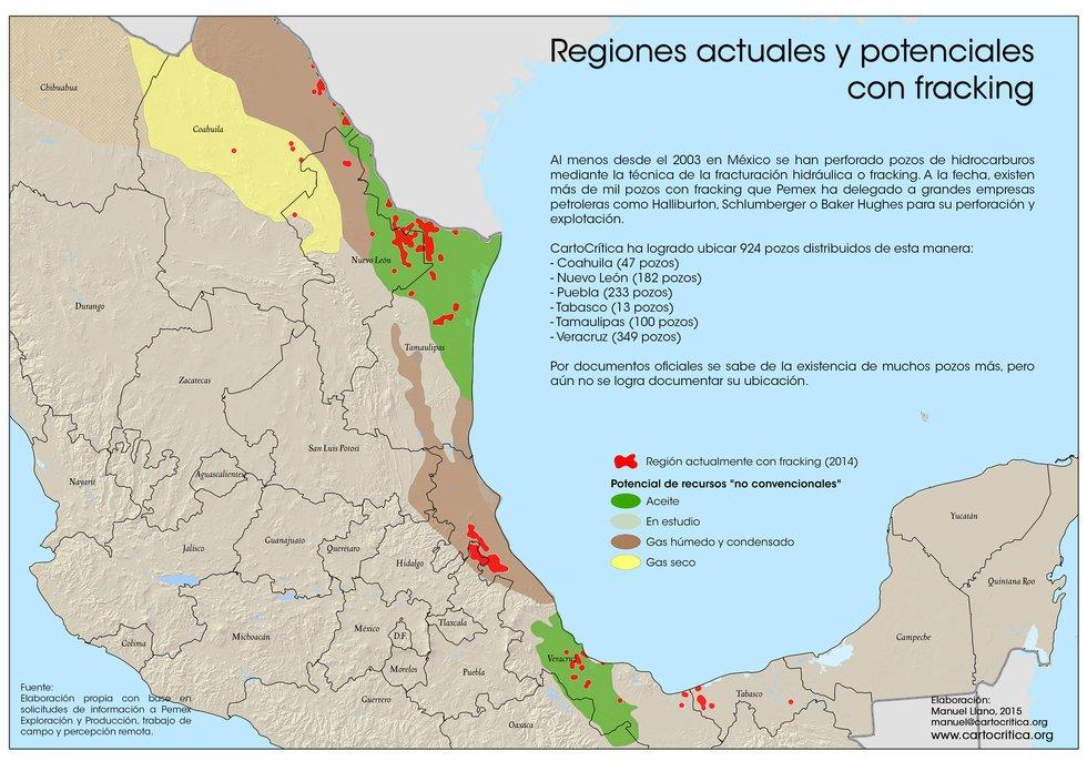 Pemex sí usa el fracking y perderá 195,000 barriles si lo prohíbe (Veracruz)