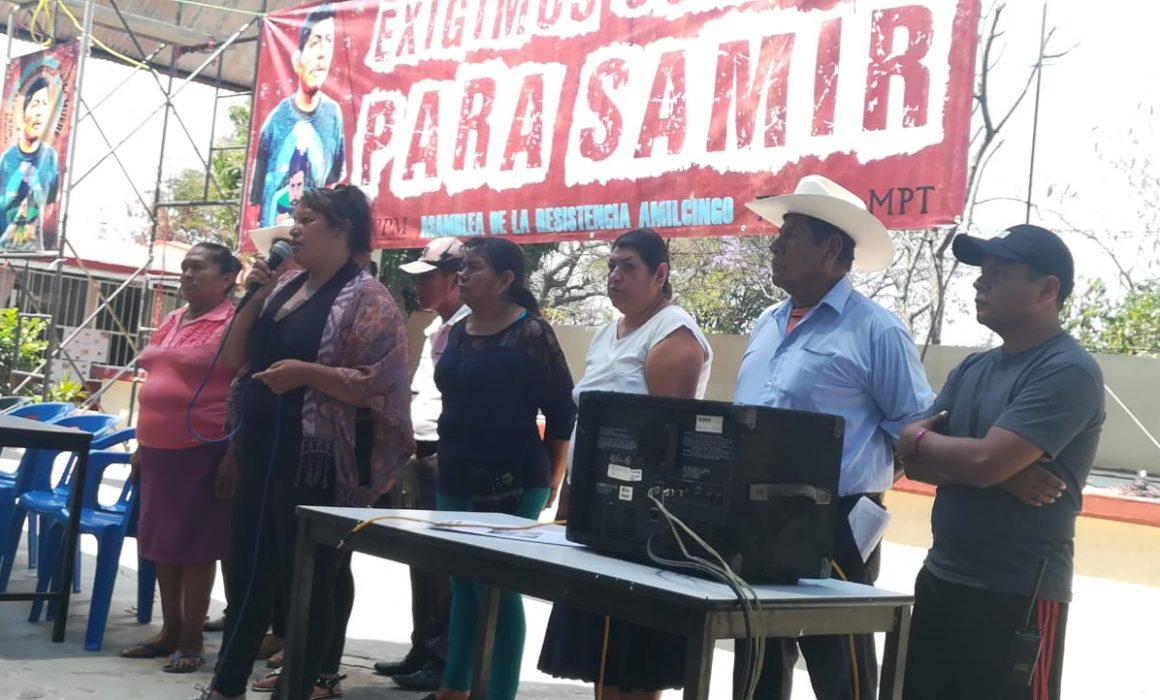 """Movilizaciones en Chinameca; declaran a AMLO """"no grato"""" en Morelos"""
