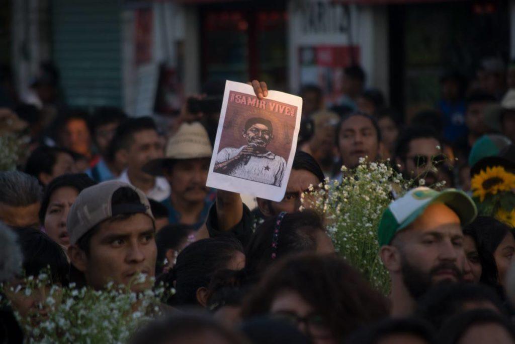 Tras su muerte, gobierno federal criminaliza a Samir Flores; defensores exigen justicia a través de firmas