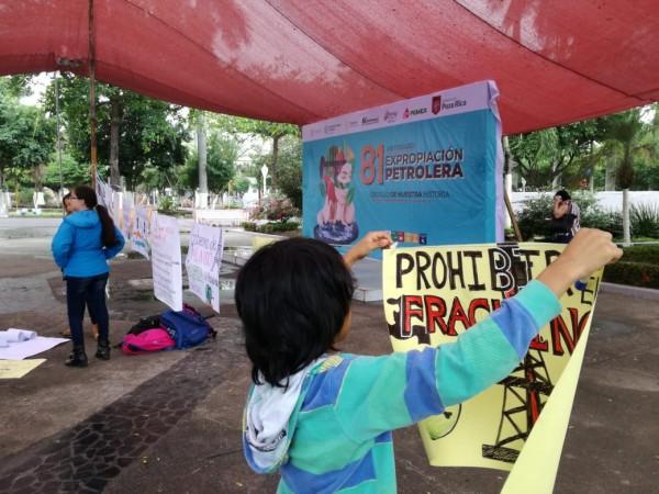 Pemex y fracking envenenan a Veracruz, afirman activistas