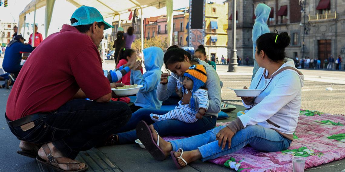 Desplazados de Guerrero pierden la esperanza en el gobierno federal