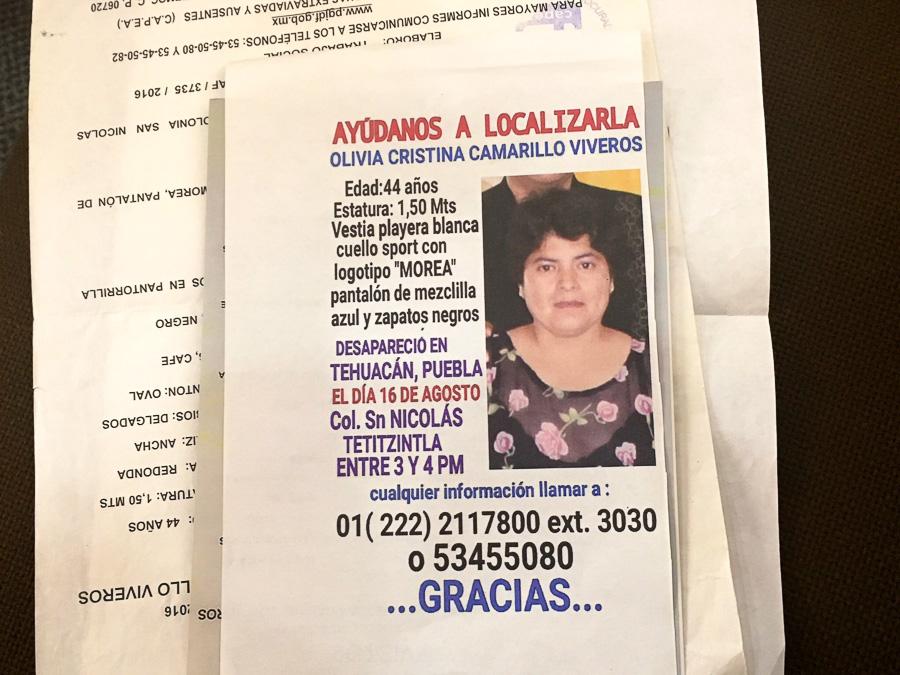 Puebla ya no puede ocultar a sus desaparecidos