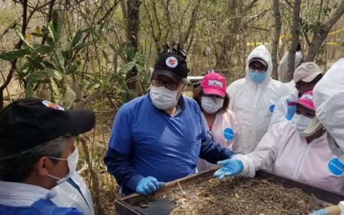 Escarban fosas clandestinas con sus manos (Tamaulipas)