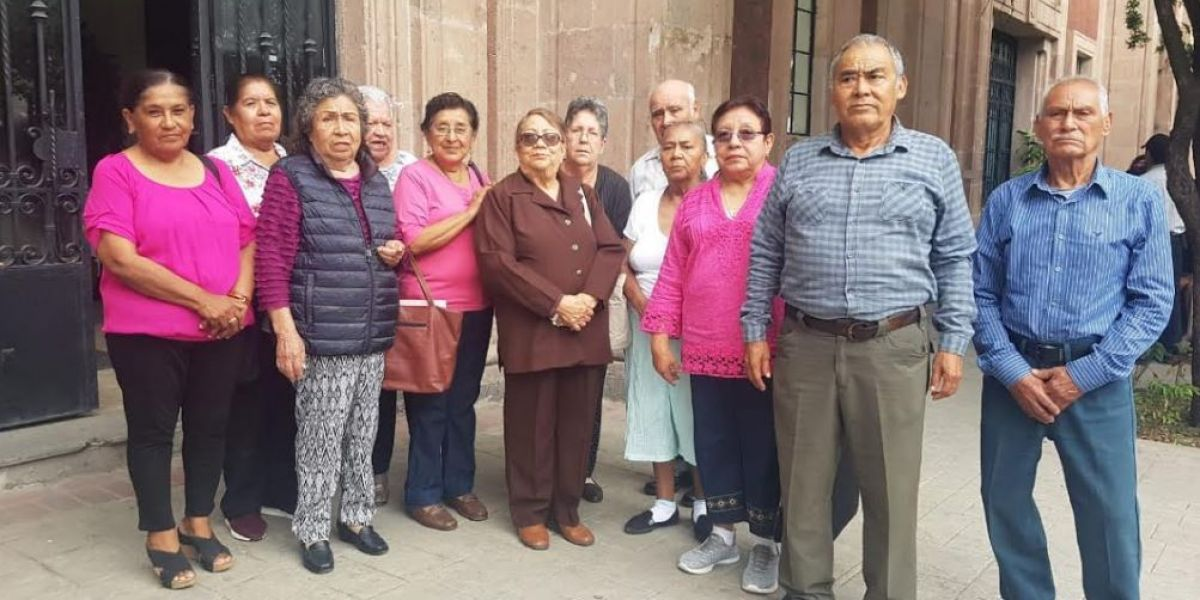 Ex trabajadores de Hospitales Civiles truenan contra la SST (Tamaulipas)