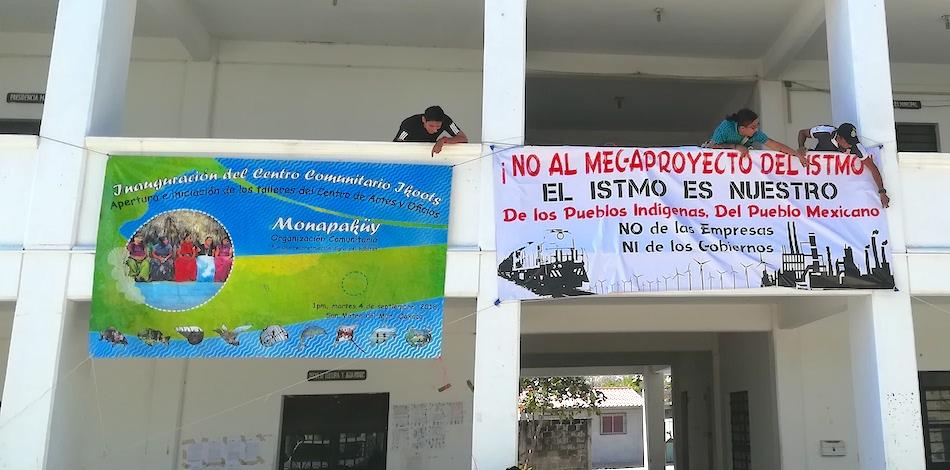 Comunidades del Istmo realizan foro en rechazo a consulta de AMLO