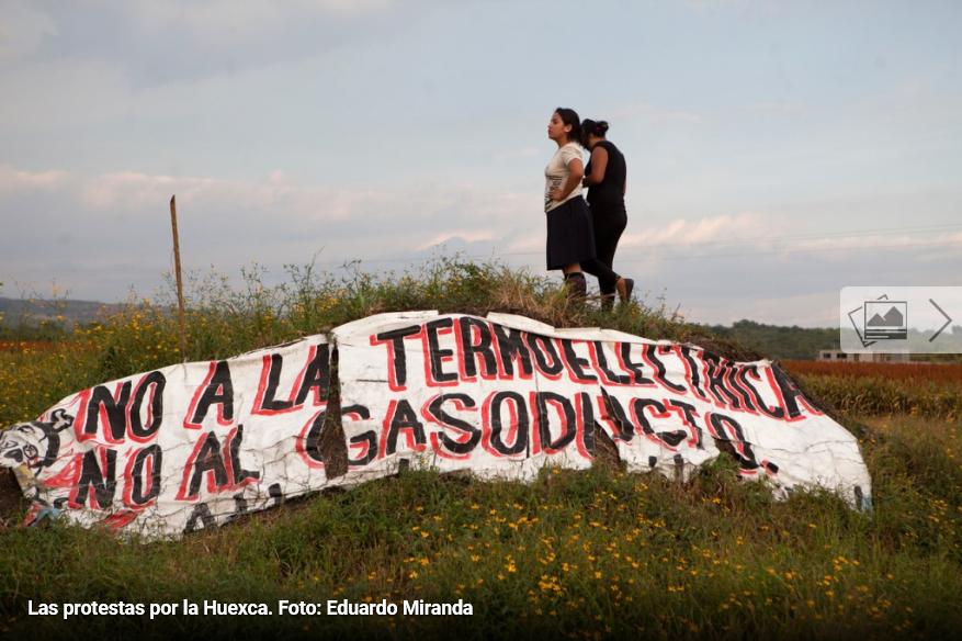 Congreso Nacional Indígena va contra consulta por termoeléctrica con ola de amparos