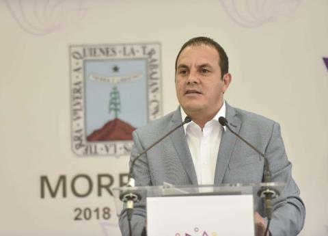 Pide Cuauhtémoc Blanco a Congreso de Morelos aprobar Guardia Nacional