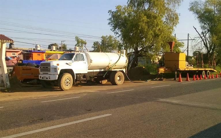 Denuncian ecocidio en Villahermosa por obras de drenaje