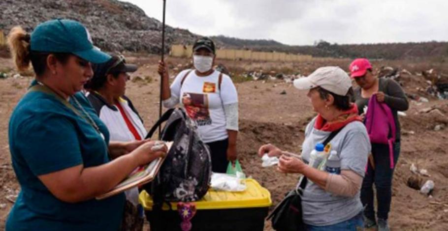 Buscan fosas clandestinas a lado de basurero en Veracruz