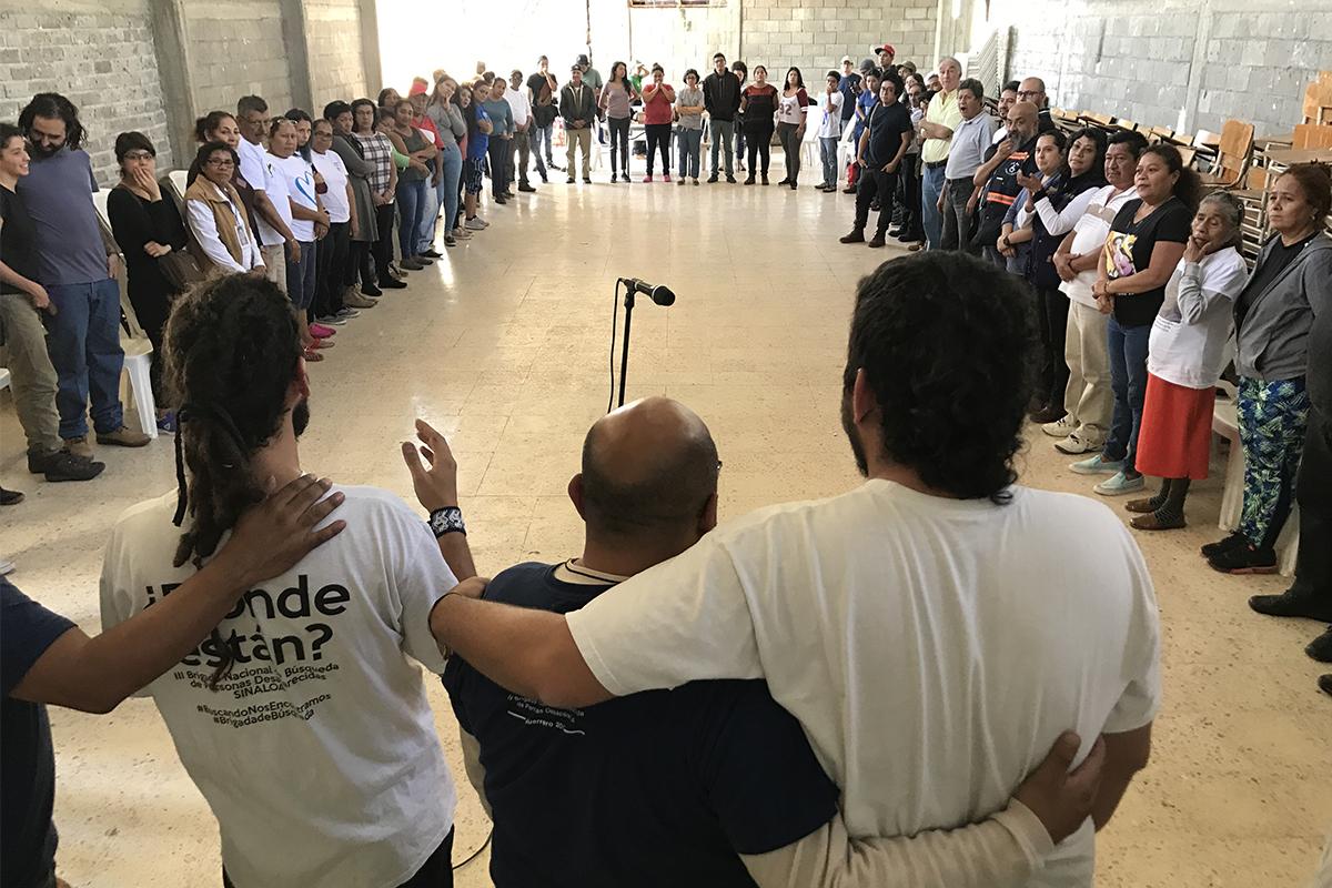 Buscar en compañía, en terreno y en comunidad (Guerrero)