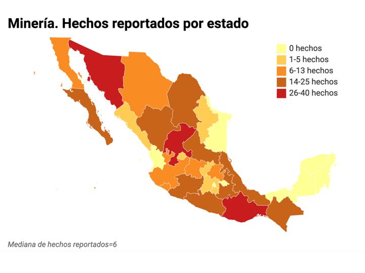 Minería y energía detonan 879 conflictos en México; los ligan al crimen, empresas y gobiernos