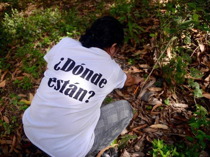 Rastreadoras encuentran una fosa clandestina en Estación Rosales, Culiacán (Sinaloa)