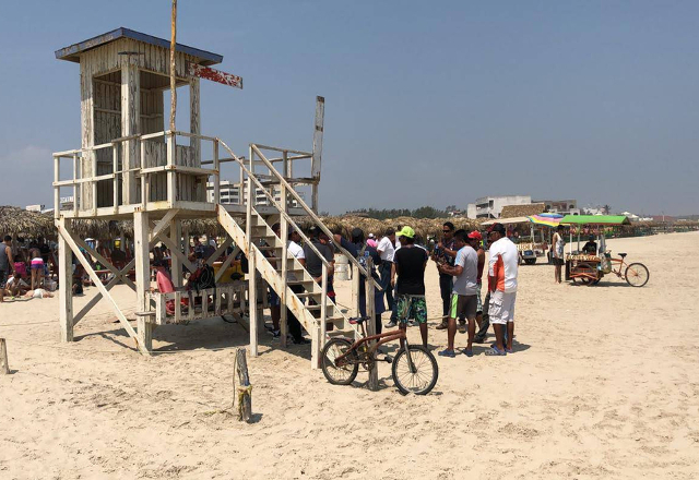 Playa Miramar sin salvavidas, se ponen en huelga (Tamaulipas)