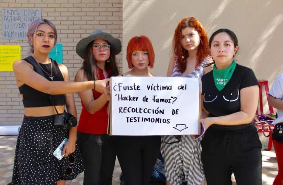 Viven acoso alumnas por hacker de 'Famus' (Nuevo León)
