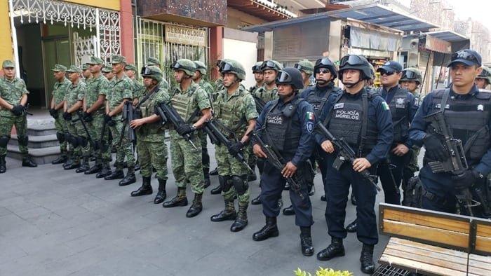 """Se militariza Morelos con plan """"Soldado Amigo"""""""