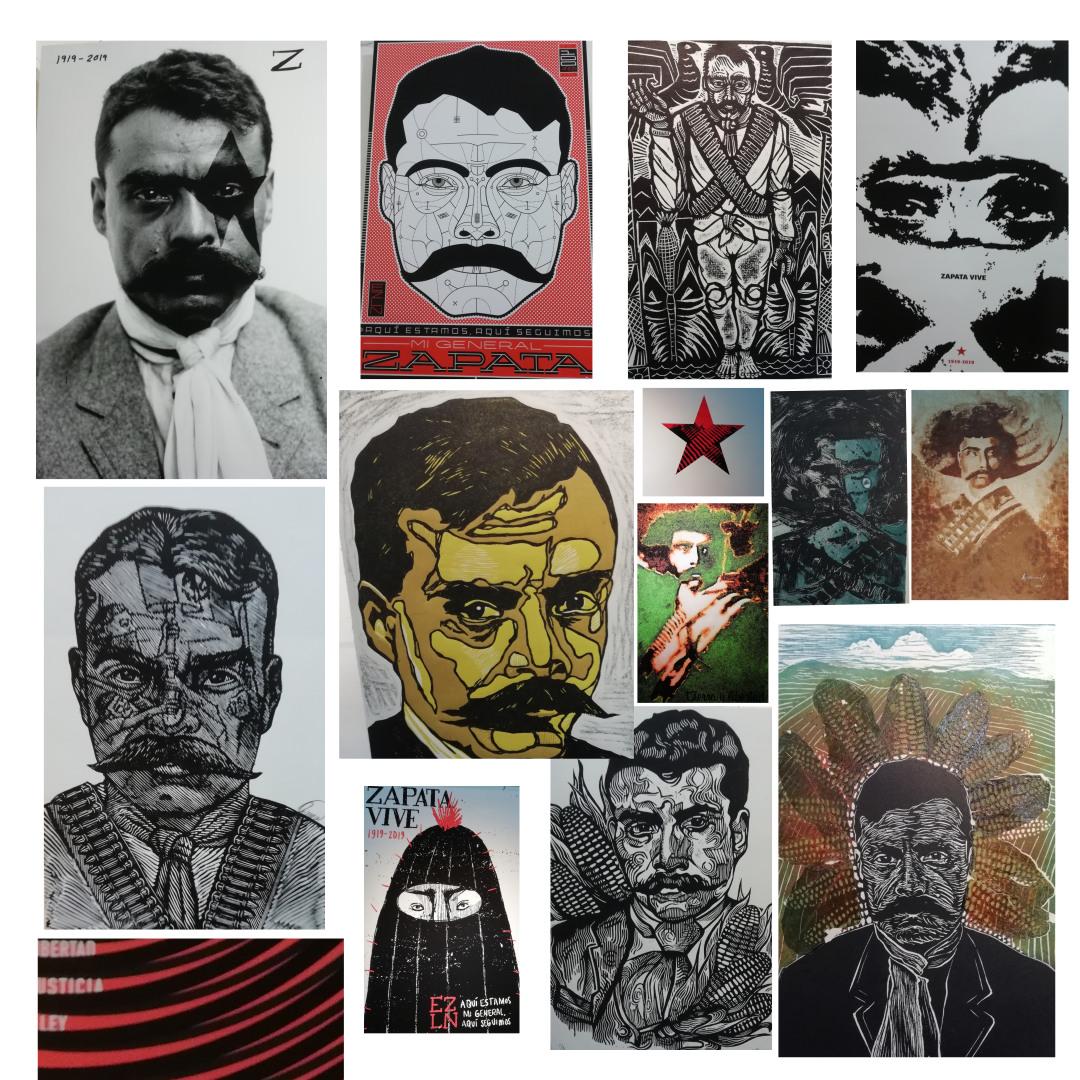 Salzapateando: Diseño, salsa y resistencia en conmemoración del asesinato de Emiliano Zapata