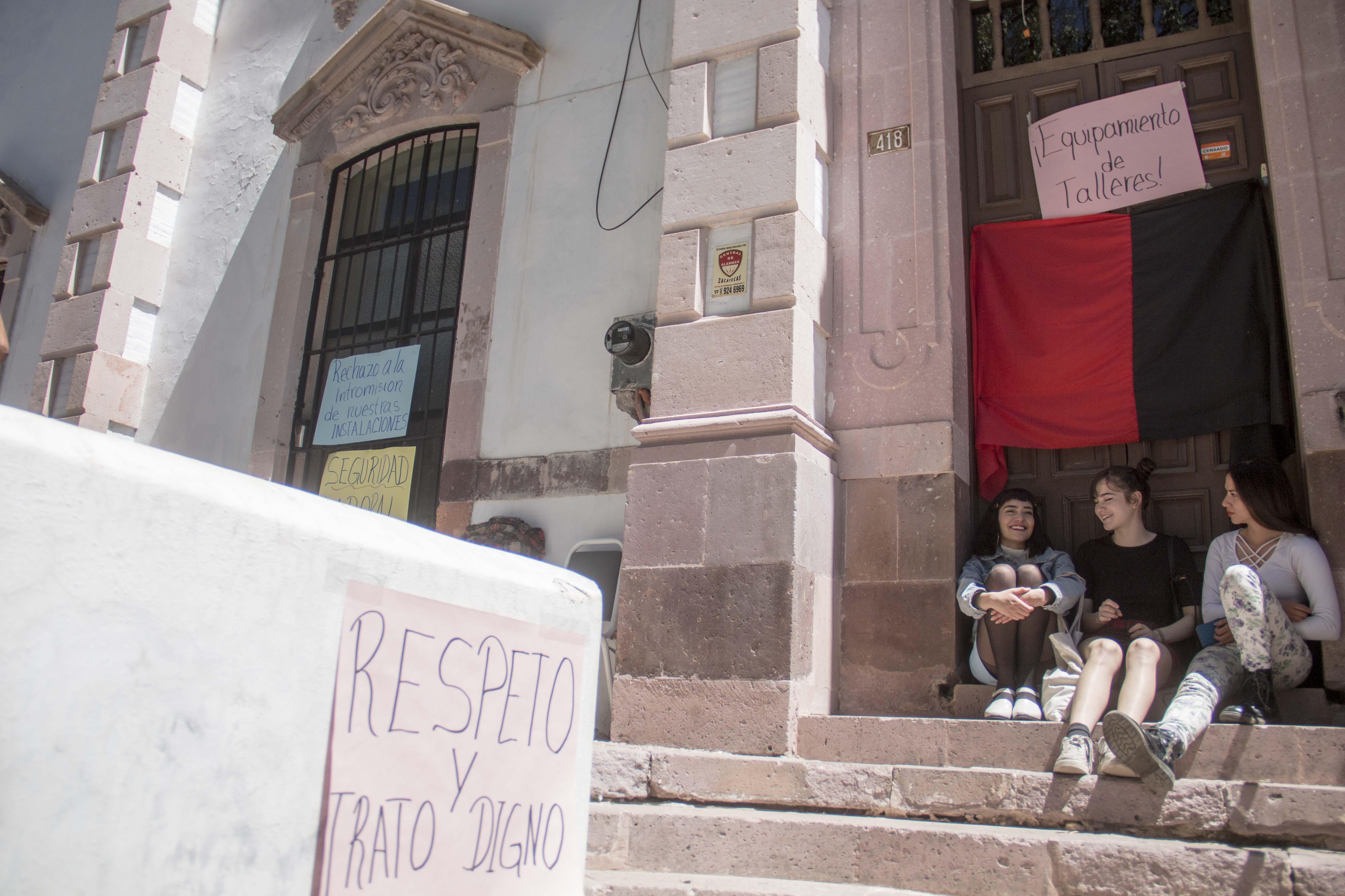 También toman la Escuela de Restauración (Zacatecas)