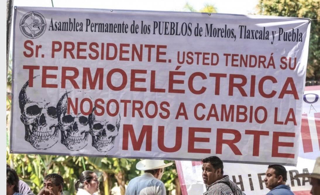 AMLO continúa la guerra contra los pueblos, reprochan colectivos en Morelos