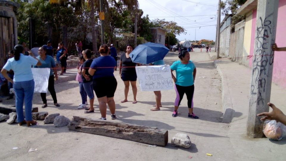 Vecinos de Pino Suárez se unen contra la construcción de cárcamo (Sinaloa)