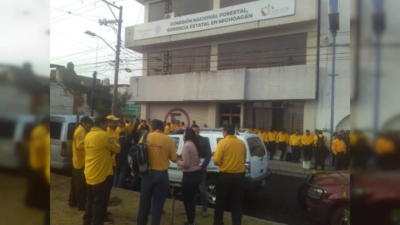 Con recortes a CONAFOR, brigadas contra incendios no han operado al 100%  (Michoacán)